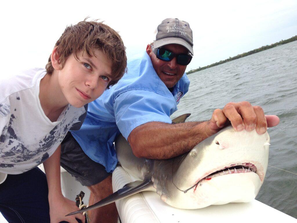 Captiva Shark Fishing